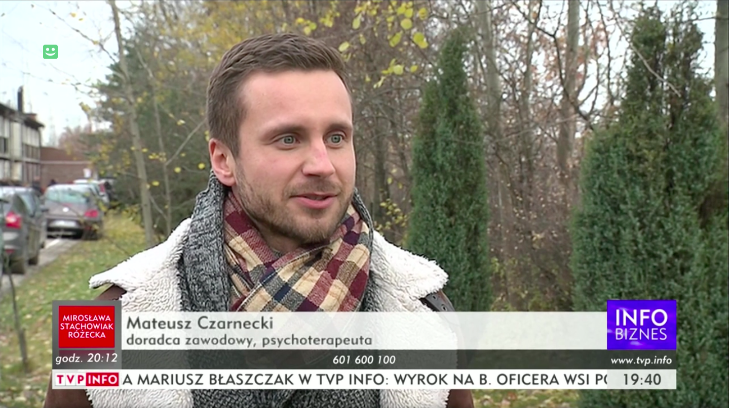 Mateusz Czarnecki w TVP INFO